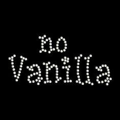 No Vanilla My Fifty 50 shades of grey christian by nysparkles, $5.00