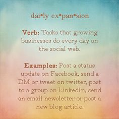 Expand your #business daily!