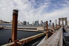 Brooklyn Bridge railing