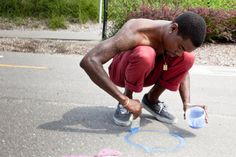 Hopscotch Detroit: Community Building With Miles Long Pop-up Playground | Community on GOOD