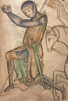 12th to early 13th c very similar to Goliath from the Maj bible