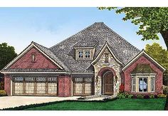 Plan No: W48370FM Style: European, Traditional Total Living Area: 2,013 sq. ft. Main Flr.: 2,013 sq. ft. Porch, Combined: 60 sq. ft. Attached Garage: 3 Car, 661 sq. ft. Bedrooms: 3 Full Bathrooms: 2 Half Bathrooms: 1 Width: 50' Depth: 60' Maximum Ridge Height: 30'