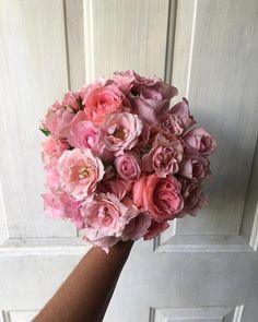 CBR357 Weddings Riviera maya Light pink bouquet / Ramo rosa claro