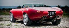 Jaguar Eagle Speedster red