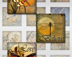 Dragonflies Ephemera Inspirational Words by pixeltwister on Etsy