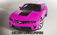 Chevy Camaro Pink - Girly Cars for Female Drivers! Love Pink Cars ♥ It's the dream car for every girl ALL THINGS PINK!