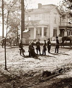 Atlanta, Georgia. Federal officers...what a great historical record!