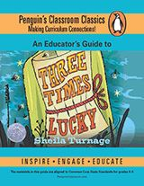 Embark on a novel study of the Newbery Honor book Three Times Lucky by Sheila Turnage. This six-week curriculum aligned with Common Core State Standards includes creative lesson ideas, homework suggestions, and possible technology integrations for each day. https://www.teachervision.com/novels/literature-guide/76355.html?utm_content=buffer8e1a5&utm_medium=social&utm_source=pinterest.com&utm_campaign=buffer #midleved #literature #reading #litchat #libchat