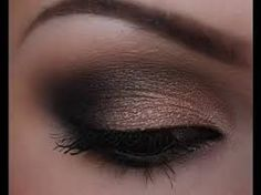 Image result for dramatic eye makeup for brown eyes