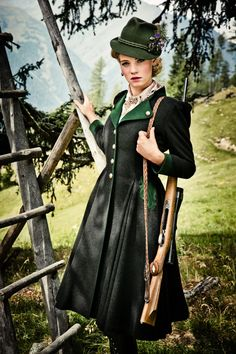 Lena Hoschek - Alpine Huntress inspiration