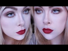Frances Bean Cobain Grunge Makeup Tutorial • JackyOhhh - YouTube
