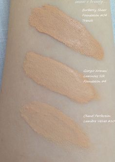 The Giorgio Armani Luminous Silk Foundation - my new HG foundation?... *with photos and swatches G Armani, Giorgio Armani Perfume, Armani Logo, Chanel Foundation, Swatch, Style Inspiration, Silk, Harrods, Makeup