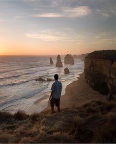 Gazing over Australia's 12 Apostles by @dutchieslife by musephoto http://ift.tt/1ijk11S