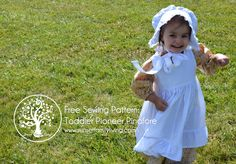 free pattern: make a toddler pioneer pinafore