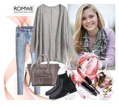 """""""ROMWE 4"""" by aida-1999 ❤ liked on Polyvore featuring Chanel"""