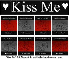 Kiss Me Art Meme (Knuxadow) by RednBlackDevil