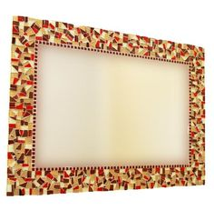 Custom Mosaic Wall Mirror by GreenStreetMosaics | Hatch.co