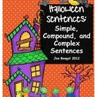 This is a really fun way to teach about the three main types of sentences: simple, compound, and complex.  According to the Common Core State Stand...