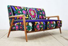 Hey, I found this really awesome Etsy listing at https://www.etsy.com/listing/273070382/vintage-sofa-violet