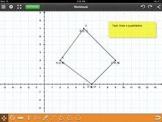 Coordinate grid for iPad