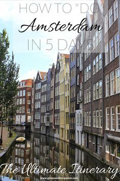 I think most people don't expect to find that many cool things to do in Amsterdam, making it all about sex-museums and coffee shops. Short story: it's not. Amsterdam is sensational and there's a lot more to the city. But you'll see what I'm talking about!