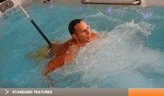 Tidalfit Exercise Pool On Pinterest Spas Jets And Exercise