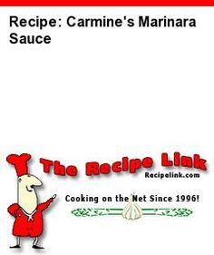 Recipe: Carmine's Marinara Sauce - Recipelink.com