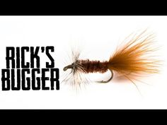 Fly Tying: Rick's Bugger  - North 40 Fly Shop