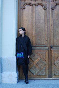 Thaïs Ribbon: My Oversized Winter Coat