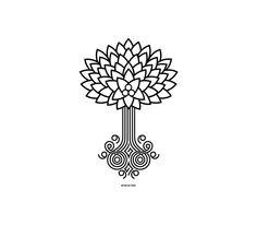 Rowan tree tattoo   Tattoos   Pinterest