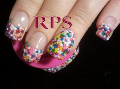 Candy Coated - Nail Art Gallery by NAILS Magazine www.nailsmag.com