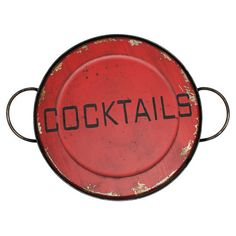 Found it at Wayfair - Cocktail Serving Tray in Aged Redhttp://www.wayfair.com/daily-sales/p/Cocktail-Party-101-Cocktail-Serving-Tray-in-Aged-Red~VIAA1486~E13647.html?refid=SBP.rBAZEVLEdgogIUbs_pUiAuj5LdV9p0HqmEYuT-D_Neg