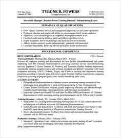 Example Of A Student Level Reverse Chronological #Resume More ...