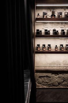 Crime Passionnel niche perfume boutique interior design.
