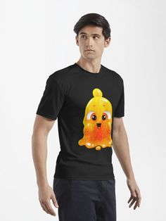 Yellow and orange excited slime shirts and hoodies for men! Slime, Yellow, Orange, Hoodies, Mens Tops, T Shirt, Fashion, Supreme T Shirt, Moda