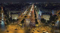 Champs Elysées, Arc de triomphe , Paris