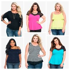 Awesome tops at Torrid