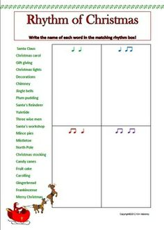 12 RHYTHM Worksheets Set 2 - Aussie Music Teacher - TeachersPayTeachers.com