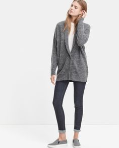 Jollice Mohair Button Cardigan