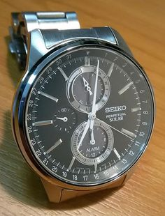 Solar Watch, Seiko, Omega Watch, Watches, Accessories, Frames, Clock, Clocks