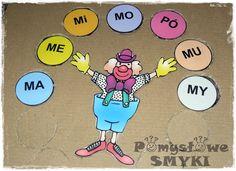 Sylabowe zabawy - cyrkowy pokaz 2~ Pomysłowe Smyki