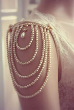 Delicate pearls.