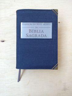Capa Biblía Pequena Azul Linho