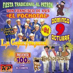 GRUPO MUSICAL LA CONCENTRACION: Hoy Domingo 9 de Octubre La Concentración en Pocho...