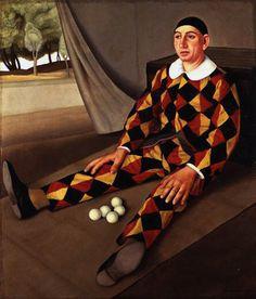 Antonio Donghi, Giocoliere (Juggler), 1926