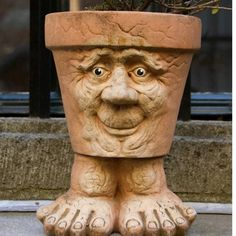 funny planter