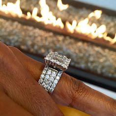 Benchmark Jewelers | LVE #AyishaCottontail #Ayisha #Lifestyle #Siren #Diamond #Ring #Pretty #Powerful #Princess #Round #WhiteGold #Jewelry #Cut #Color #Clarity #Carat #IcyGleaming #DiamondRing #Perfect #Perfection #Absolute #Luxury #Timeless Benchmark-jewelers.com The Mark of Distinction #BenchmarkJewelers
