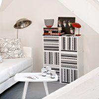 Un meuble décoré de masking tape - Marie Claire Idées