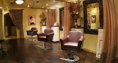 What a pretty salon!