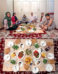 From Istanbul to Sydney to Beijing, here's what Muslim families are eating to break the fast for Iftar Gourmet Recipes, Healthy Recipes, Recipes Dinner, Middle East Food, Teheran, Arabic Food, Tempura, Iftar, Food Design